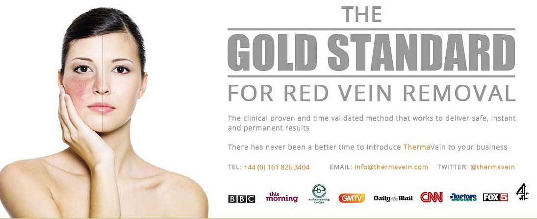 ThermaVein red vein removal Pulborough Horsham West Sussex
